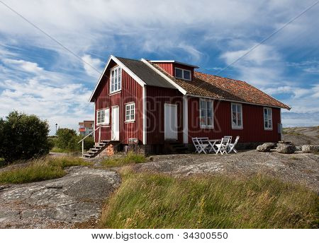 Old House On A Swedish Island