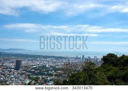 Vung Tau, Vietnam - December.24.2020: View Over Vung Tau From Ho May Park
