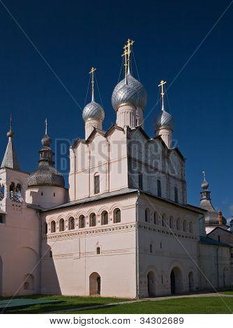 Resurrection Orthodox church in Rostov kremlin