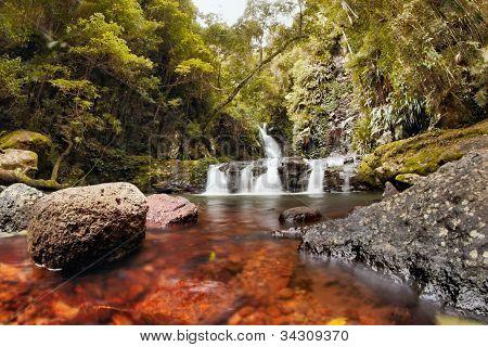 World Heritage Area Elabana Falls