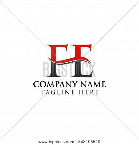 Fe Letter Type Logo Design Vector Template. Abstract Letter Fe Logo Design