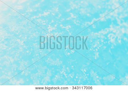 Blue Aqua Turquoise Aquamarine White Gradient Color. Patchy Abstract Background.