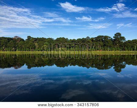 Panorama View Of Xuan Huong Lake