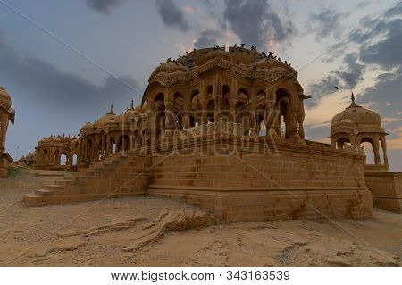 Bada Bagh Or Barabagh, Literally Big Garden, Is A Garden Complex In Jaisalmer, Rajasthan, India. A S