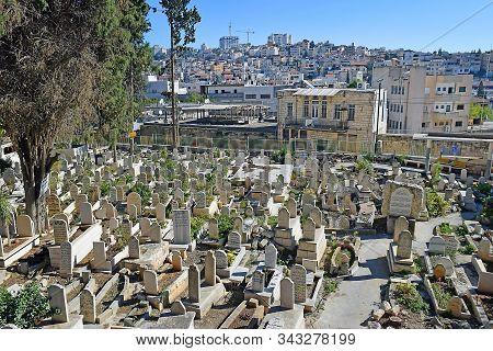 Old Muslim Cemetery In Nazareth, Israel