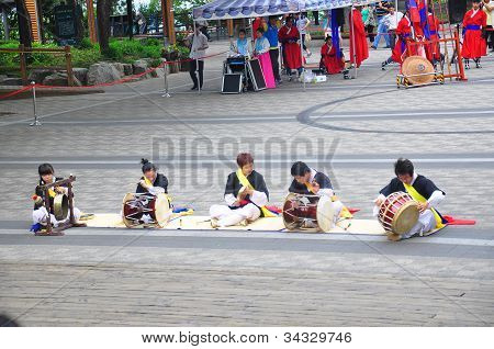 Central Seoul, Korea - June 19-23