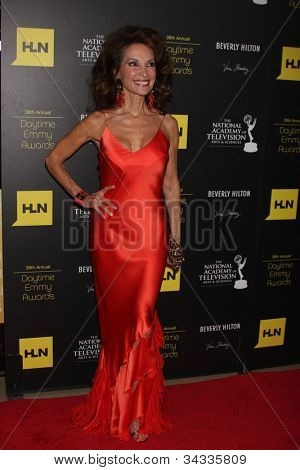 LOS ANGELES - JUN 23:  Susan Lucci arrives at the 2012 Daytime Emmy Awards at Beverly Hilton Hotel on June 23, 2012 in Beverly Hills, CA