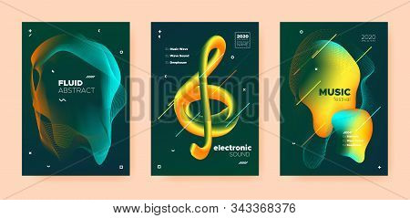 Trance Music Poster. Abstract Gradient Blend. Night Club Festival. Dj Sound. Green Techno Music Poster. Yellow Abstract Gradient Shape. Disco Club Festival. Dj Concert. Dance Music Poster. poster