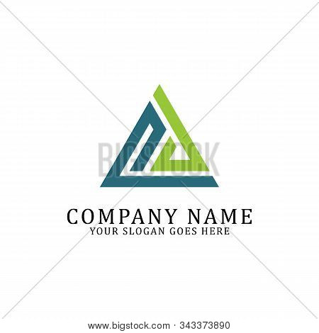 Pd Logo Designs, P And D Triangle Logo Vector