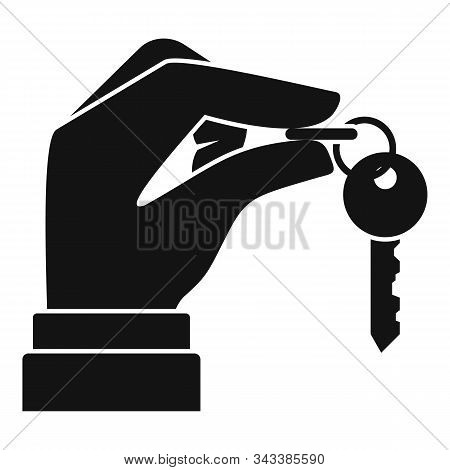 Lease House Keys Icon. Simple Illustration Of Lease House Keys Vector Icon For Web Design Isolated O