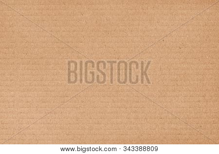 Brown Cardboard Sheet Abstract Background, Texture Of Recycle Paper Box In Old Vintage Pattern For D