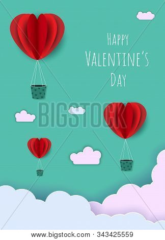 Valentine day, Valentine's Day background, Valentine's day banners, Valentine's Day flyer, Valentine's Day design, Valentines Day with Heart on black background, Copy space text area, vector illustration. Valentine's day background. Happy valentines day t