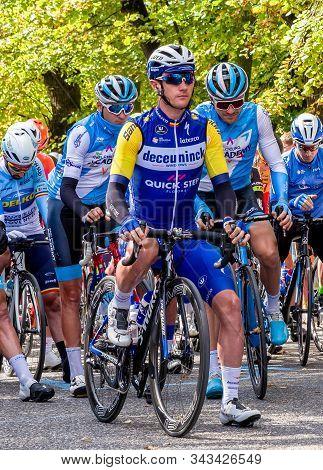 Ruzomberok, Slovakia - September 20: Professional Cyclist Yves Lampaer From Team Deceuninck - Quick-