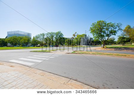 Cordoba Argentina January 4 Reformation Boulevard Where Students In 1918 Started The Demonstrations