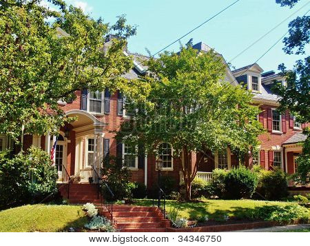 Colonial Row Houses