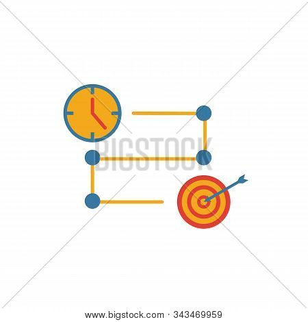 Project Timeline Icon. Simple Element From Risk Management Icons Collection. Creative Project Timeli