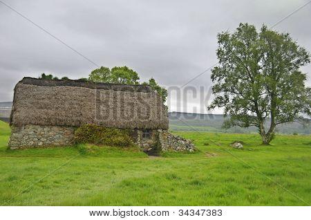 Culloden battle field english commandment house