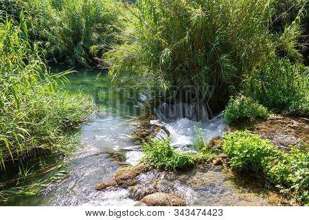 Waterfalls. National Park. Croatia. Cascade. Water. River. Krka