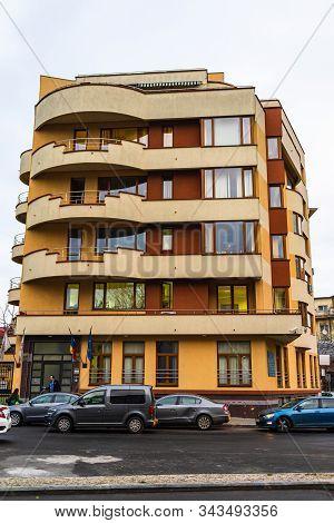 Bucharest Public Notary Chamber (camera Notarilor Publici Bucuresti) Building In Downtown Bucharest,