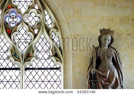 French Gothic Interior Detail