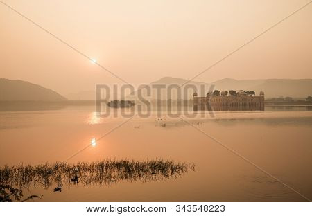 Jal Mahal (meaning Water Palace) is a palace in the middle of the Man Sagar Lake in Jaipur city, the capital of the state of Rajasthan, India.