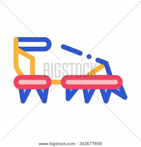 Ice-climbing Alpinism Spike Shoe Tool Vector Icon Thin Line. Compass And Glasses, Mountain Direction