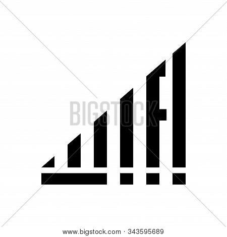Wifi Symbol With Flat And Minimalist Design. With Hidden Wifi Text Inside The Symbol. Wifi Basic Ele