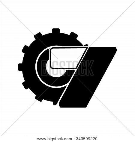 Gear Icon, Vector Icon. Gear Icon On A White Background. Trendy And Modern Icons. Symbol For Graphic