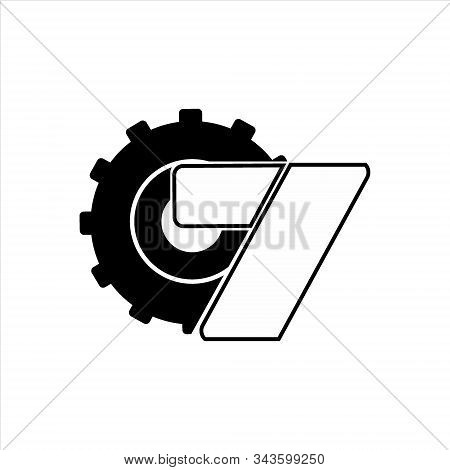 Gear Icon, Vector Icon. Gear And The Letter Icon Z. Gear Icon Eps 10. Gear Icon Image. Gear Against