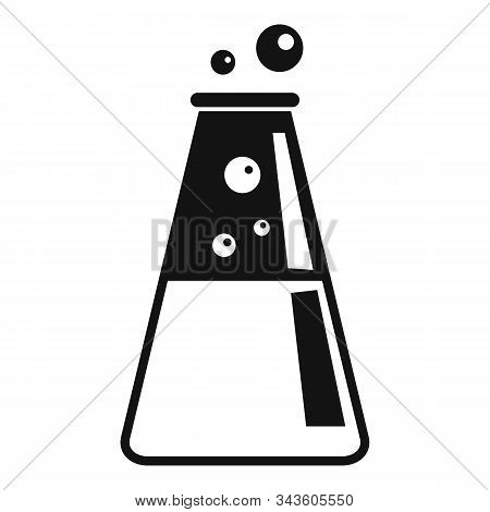Lab Boiling Pot Icon. Simple Illustration Of Lab Boiling Pot Vector Icon For Web Design Isolated On