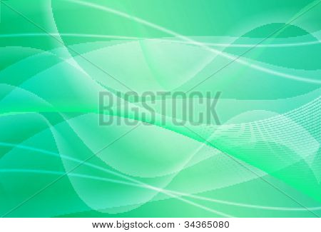 Cool wavy blue abstaract background