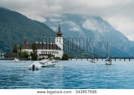 Gmunden Is A Scenic Town Of The Austrian Alps Located In The Upper Austria. Perfect Holiday Destinat
