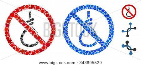 No Suicide Loop Composition Of Round Dots In Different Sizes And Color Tints, Based On No Suicide Lo