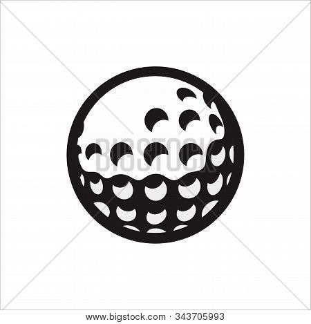 Vector Golf Ball Dwonload With A White Background