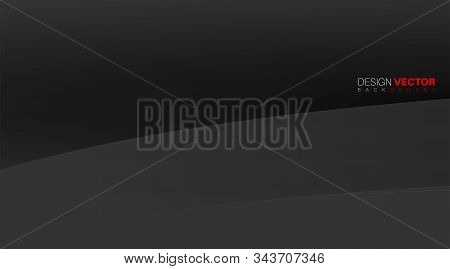 Abstact Vector Background. Gradient Pattern Design With Texture Separated By Curved Lines . Vector I