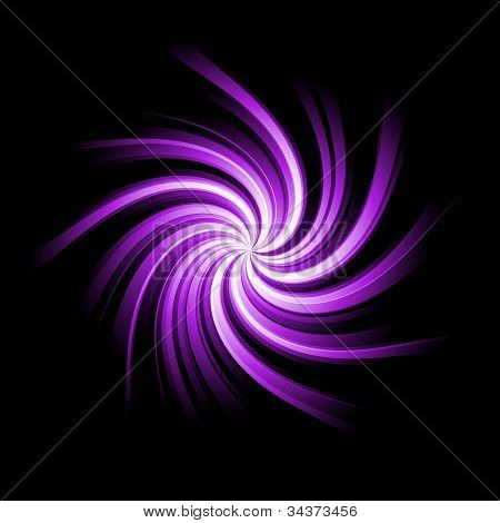 Purple Twirl