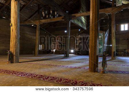 Gogceli Camii Interior Turkey