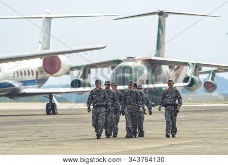 Air Crew Of Japan Air Self Defense Force (jasdf)