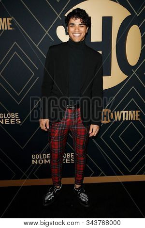 LOS ANGELES - JAN 4:  Jonathan Nieves at the Showtime Golden Globe Nominees Celebration at the Sunset Tower Hotel on January 4, 2020 in West Hollywood, CA
