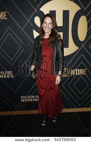LOS ANGELES - JAN 4:  Jana Winograde at the Showtime Golden Globe Nominees Celebration at the Sunset Tower Hotel on January 4, 2020 in West Hollywood, CA