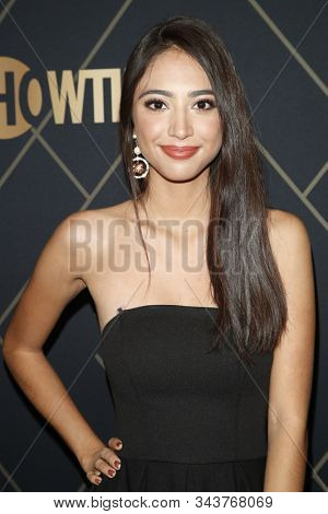 LOS ANGELES - JAN 4:  Jessica Garza at the Showtime Golden Globe Nominees Celebration at the Sunset Tower Hotel on January 4, 2020 in West Hollywood, CA