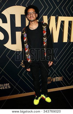 LOS ANGELES - JAN 4:  Yassir Lester at the Showtime Golden Globe Nominees Celebration at the Sunset Tower Hotel on January 4, 2020 in West Hollywood, CA