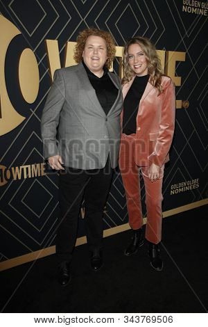 LOS ANGELES - JAN 4:  Fortune Feimster, Jacquelyn Smith at the Showtime Golden Globe Nominees Celebration at the Sunset Tower Hotel on January 4, 2020 in West Hollywood, CA