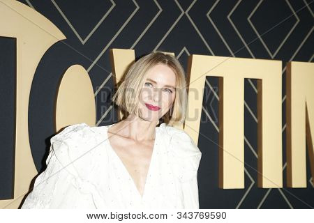 LOS ANGELES - JAN 4:  Naomi Watts at the Showtime Golden Globe Nominees Celebration at the Sunset Tower Hotel on January 4, 2020 in West Hollywood, CA