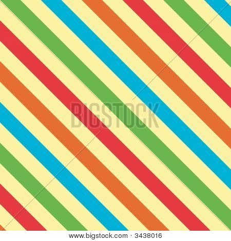 Bright Stripes Background