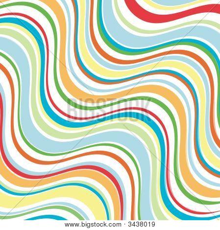 Bright Wavy Lines