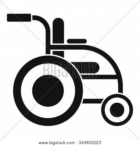 Invalid Wheelchair Icon. Simple Illustration Of Invalid Wheelchair Vector Icon For Web Design Isolat