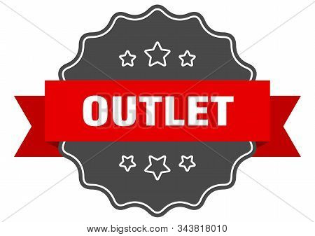 Outlet Red Label. Outlet Isolated Seal. Outlet