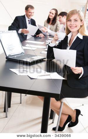 Spezialist bei der Arbeit