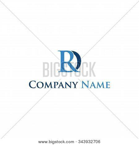 Initial Rd Logo Design Template Vintage Unique